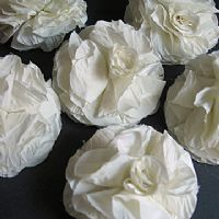 Ivory White Bridal Corsage RR95,96,97,98,99-101